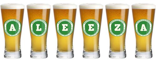 Aleeza lager logo