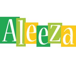 Aleeza lemonade logo