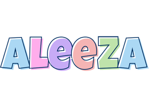 Aleeza pastel logo