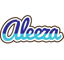 Aleeza raining logo