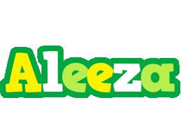 Aleeza soccer logo