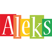 Aleks colors logo