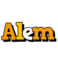 Alem cartoon logo