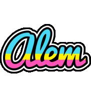 Alem circus logo