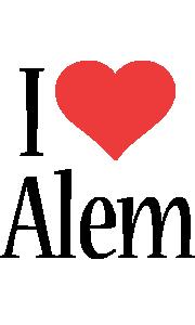 Alem i-love logo