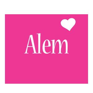 Alem love-heart logo