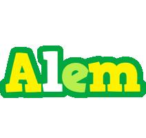 Alem soccer logo