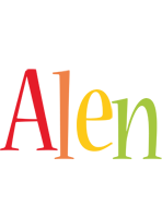 Alen birthday logo