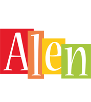 Alen colors logo