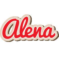 Alena chocolate logo