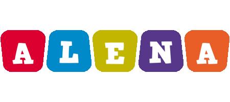 Alena daycare logo