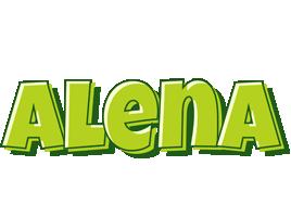Alena summer logo