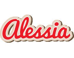 Alessia chocolate logo