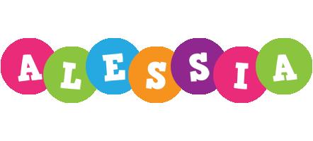 Alessia friends logo