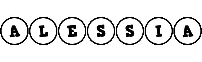 Alessia handy logo