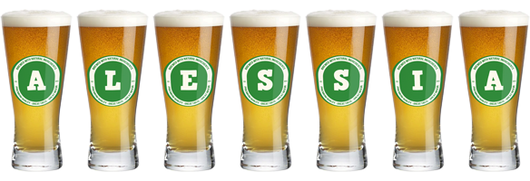 Alessia lager logo