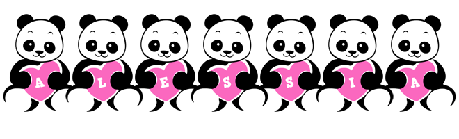 Alessia love-panda logo