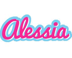 Alessia popstar logo