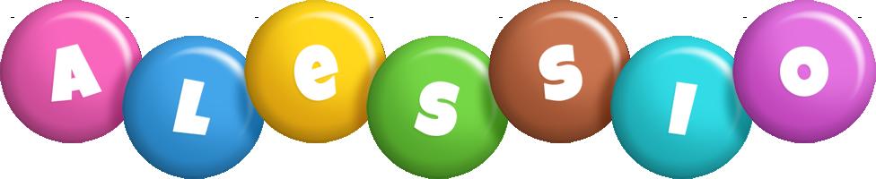 Alessio candy logo