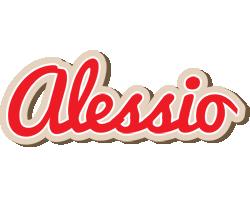 Alessio chocolate logo