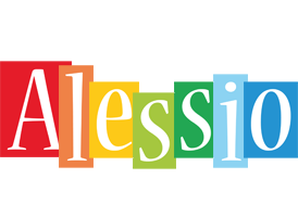 Alessio colors logo