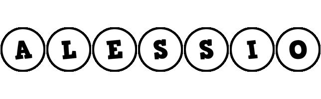 Alessio handy logo