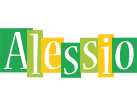 Alessio lemonade logo