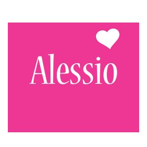 Alessio love-heart logo