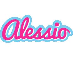 Alessio popstar logo