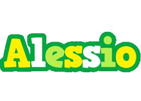 Alessio soccer logo