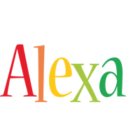 Alexa birthday logo