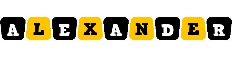 Alexander boots logo