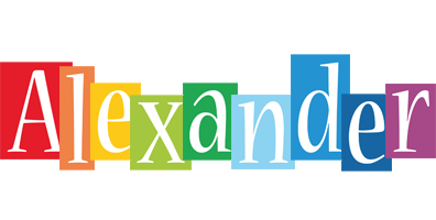 Alexander colors logo