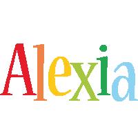 Alexia birthday logo