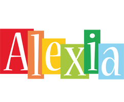 Alexia colors logo