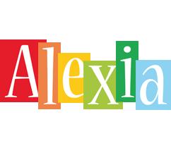 Alexia colors logo