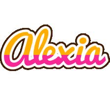 Alexia smoothie logo