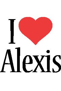 Alexis i-love logo