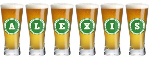 Alexis lager logo