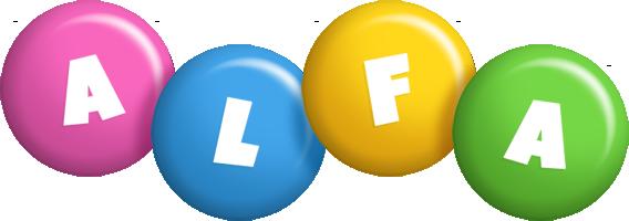 Alfa candy logo