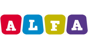 Alfa kiddo logo