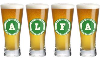 Alfa lager logo