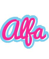 Alfa popstar logo