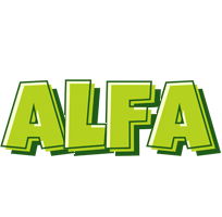 Alfa summer logo