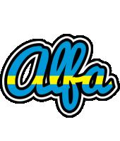 Alfa sweden logo