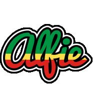 Alfie african logo