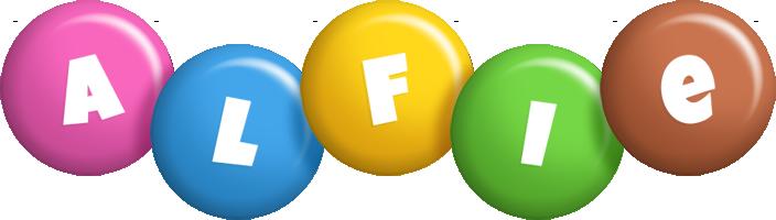 Alfie candy logo