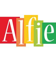Alfie colors logo