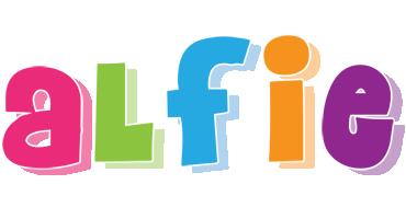 Alfie friday logo
