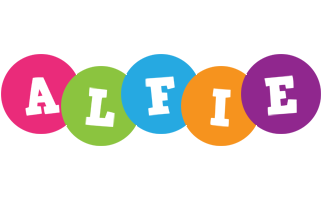 Alfie friends logo